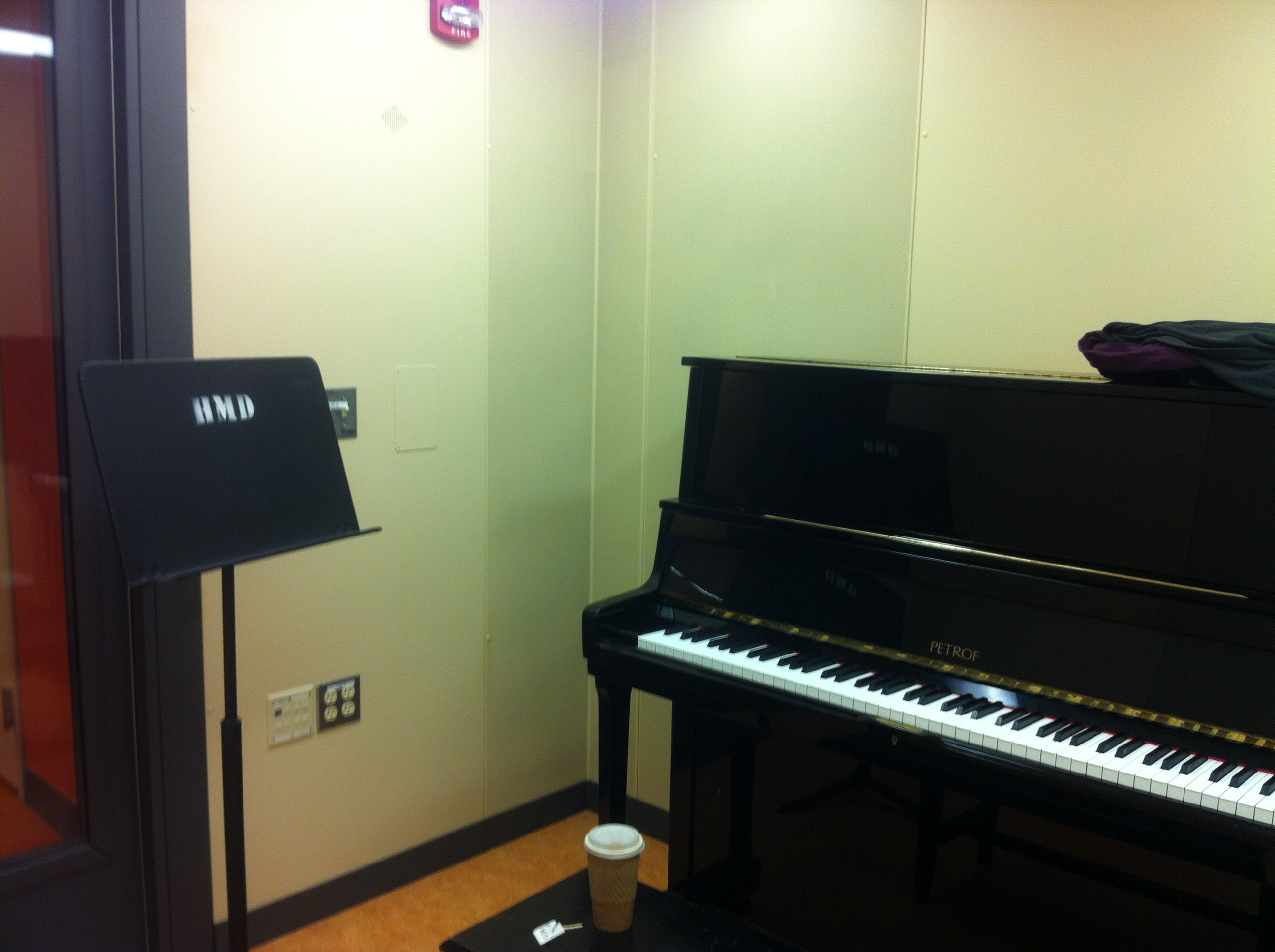 Practice Room Survey 1 Harvard School Of Music Music Adventures
